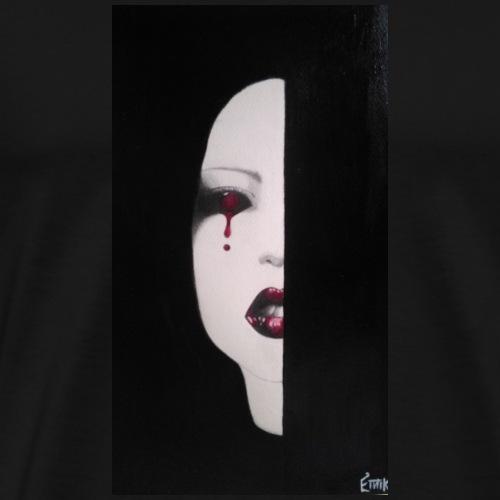 BlackWhitewoman - Maglietta Premium da uomo