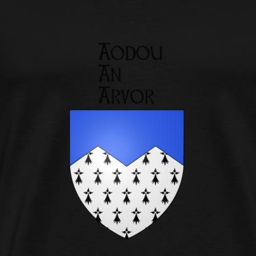 aodou an arvor/ côte d'armor - T-shirt Premium Homme