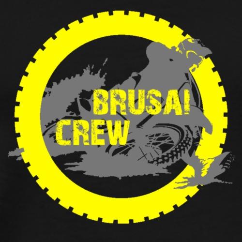 Logo Brusai Crew HD - Maglietta Premium da uomo