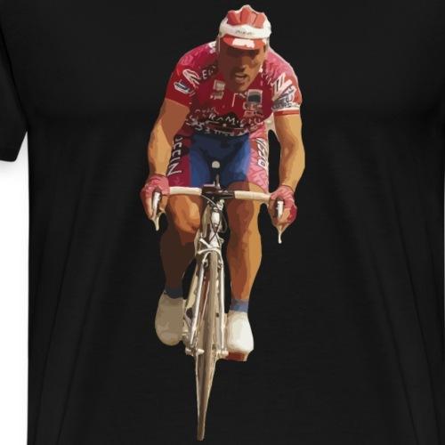 Radrennfahrer - Männer Premium T-Shirt