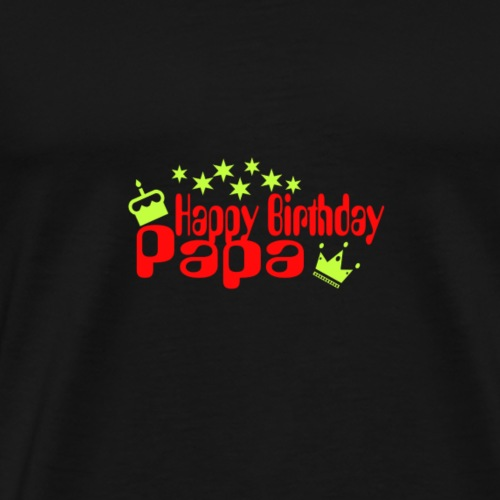 HB Papa - Männer Premium T-Shirt