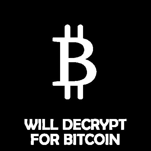 Will Decrypt For Bitcoin - Men's Premium T-Shirt