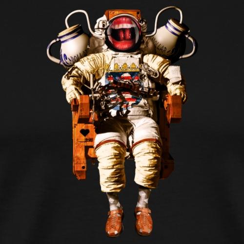 Hessischer Astronaut - Männer Premium T-Shirt