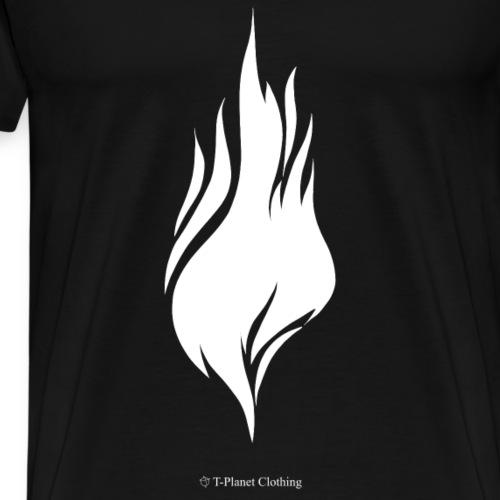 White Flame - Maglietta Premium da uomo