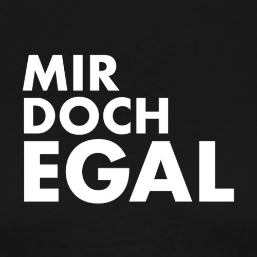 MIR DOCH EGAL WEISS - Männer Premium T-Shirt