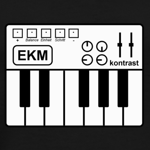 EKM - Elektronische Körpermusik - Männer Premium T-Shirt