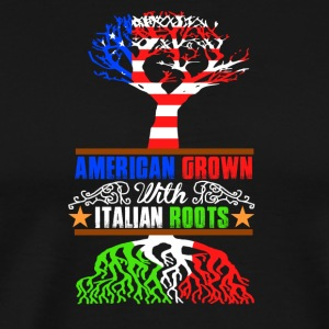 American Grown - Premium T-skjorte for menn
