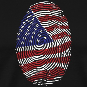USA! America! United States! Patriot! - Men's Premium T-Shirt