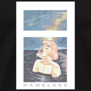 Nameless OCEAN BABE - Premium T-skjorte for menn