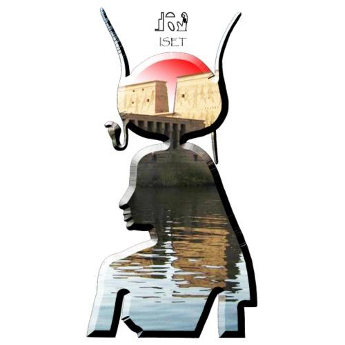 Göttin Iset (Isis) aus dem alten Ägypten - Männer Premium T-Shirt