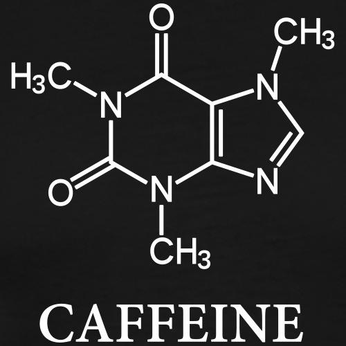 Coffee - Chemistry Caffeine - Männer Premium T-Shirt