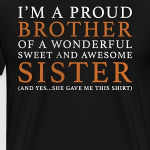 Original gave til Brother: Bestill her - Premium T-skjorte for menn