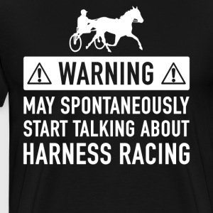 Funny Trotting Gift Idea - Men's Premium T-Shirt