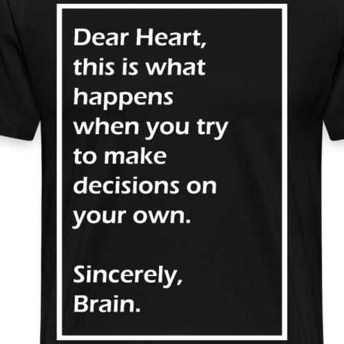 Dear Heart - Men's Premium T-Shirt