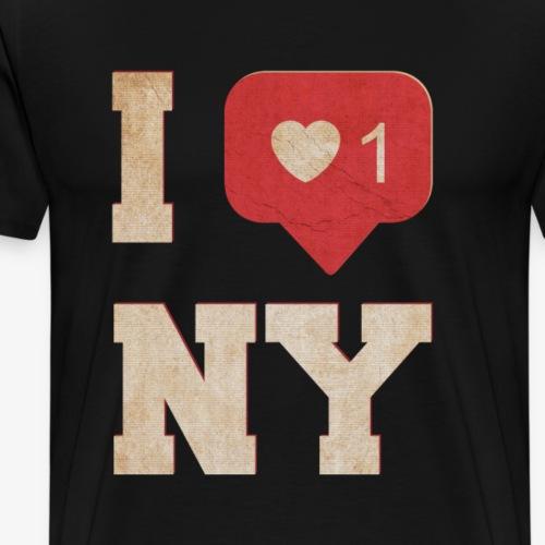 Ich liebe New York - Männer Premium T-Shirt