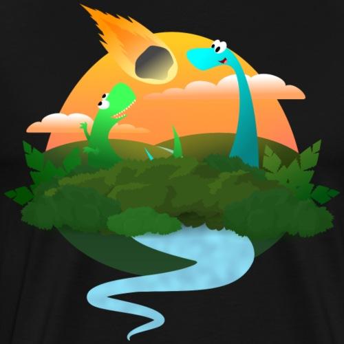 Dinopocalypse - Men's Premium T-Shirt