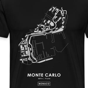 CIRCUITO DI MONTE CARLO - MONACO - Maglietta Premium da uomo