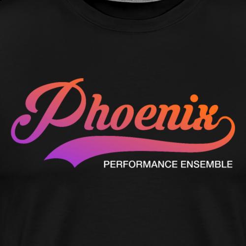 Phoenix Retro Color - Männer Premium T-Shirt