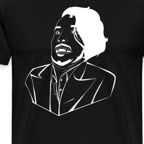 WAAAHHHHH (Black) - Men's Premium T-Shirt