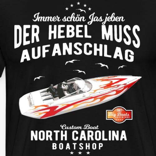 Boot Kapitän - Männer Premium T-Shirt