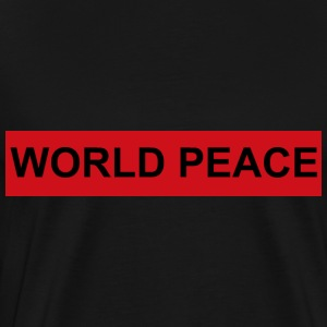 WORLD PEACE - Männer Premium T-Shirt