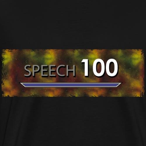 Bart Edmann Game Meme Speech 100 - Männer Premium T-Shirt
