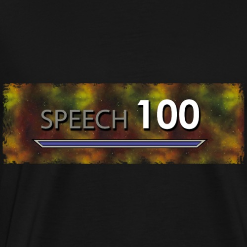 Bart Edmann Game Meme Speech 100 - Männer Premium T-Shirt