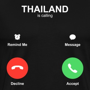THAILAND is calling - Men's Premium T-Shirt