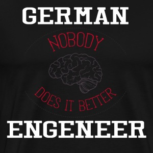 Engineering T-shirt - Herre premium T-shirt