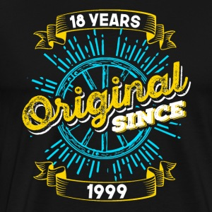 18th birthday 1999 - Men's Premium T-Shirt