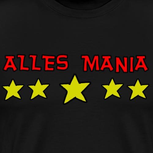 Alles Mania 5. Stern - 2 - Männer Premium T-Shirt