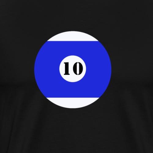 Billard Zehn Junggesellenabschied JGA - Männer Premium T-Shirt
