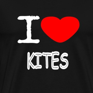 I LOVE KITES - Men's Premium T-Shirt