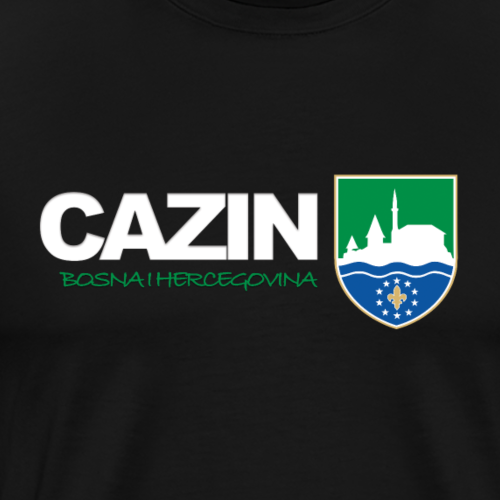 Grad Cazin - Männer Premium T-Shirt