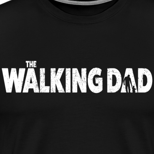 Walking Dad - Männer Premium T-Shirt