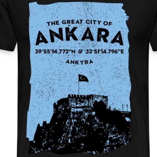 City of Ankara - Männer Premium T-Shirt