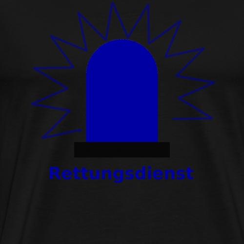 Blaulicht Rettungsdienst - Männer Premium T-Shirt