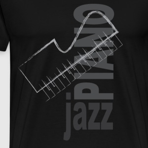 Jazz Piano - Men's Premium T-Shirt