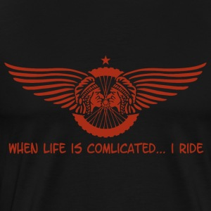when life is complicated - Männer Premium T-Shirt