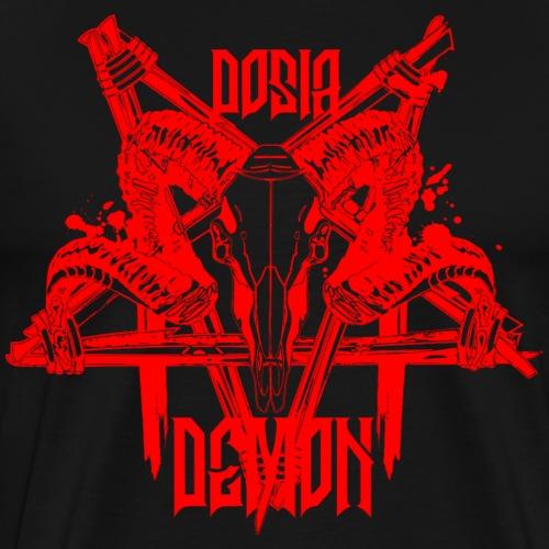 Dosia Demon Baphomet Logo - Männer Premium T-Shirt