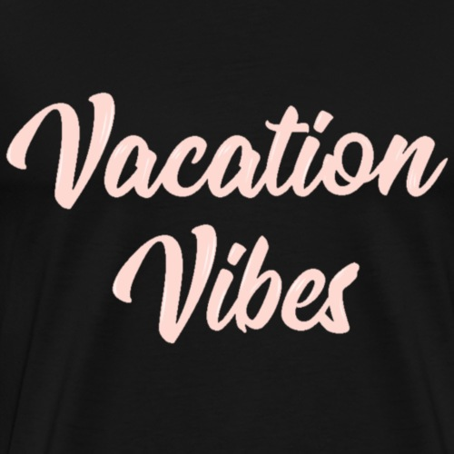 Vacation Vibes - Rose Gold - Men's Premium T-Shirt