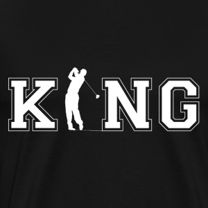 Golfers King - Men's Premium T-Shirt
