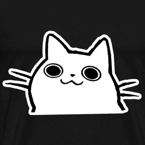Katze Comic - Männer Premium T-Shirt