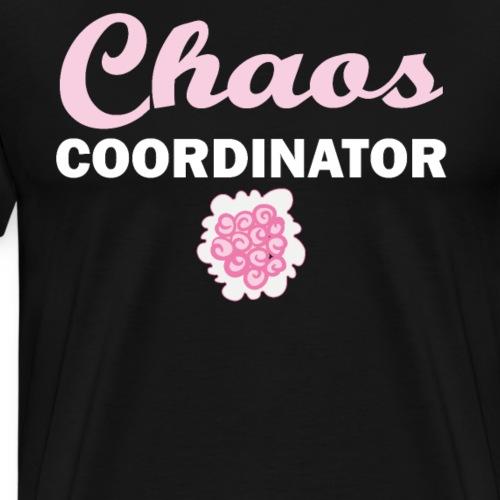 Coordinador del caos planificador de bodas - Camiseta premium hombre