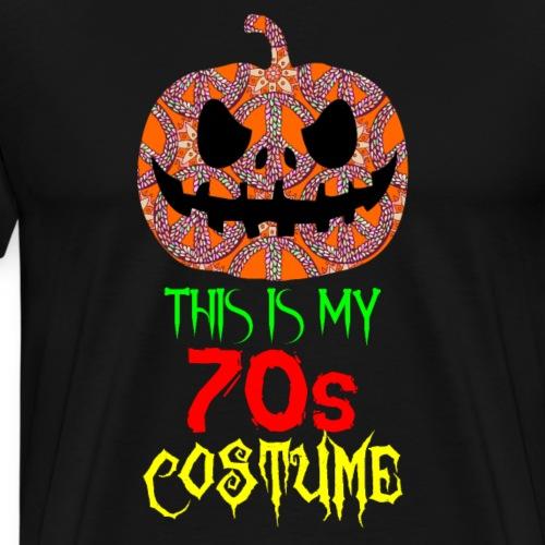 Disfraz Halloween de los 70s - Camiseta premium hombre
