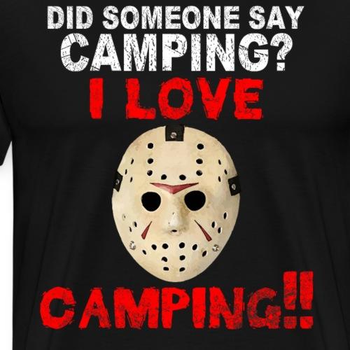 Jason viernes 13 HALLOWEEN - Camiseta premium hombre