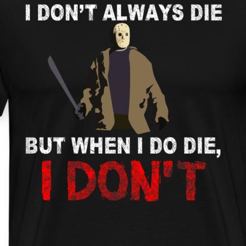 JASON un zombie inmortal para Halloween - Camiseta premium hombre