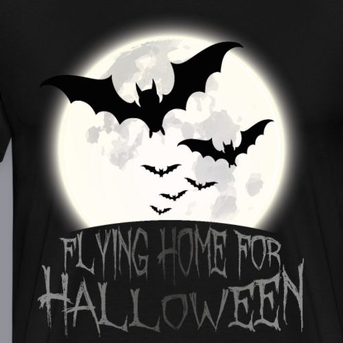 Flying Home for Halloween