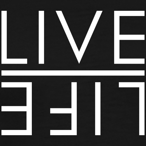 LIVE - LIFE - Männer Premium T-Shirt