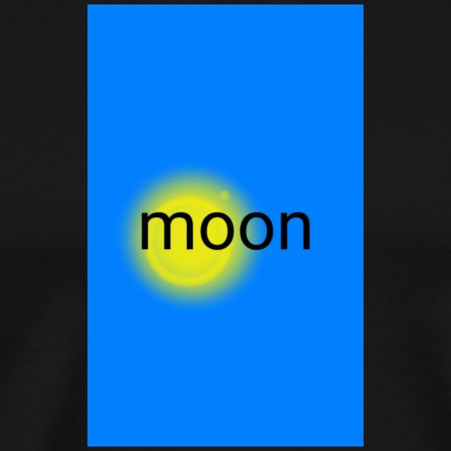 full moon, fund esign© by art elisa elisa hopp - Männer Premium T-Shirt